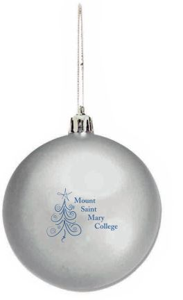Shatter Proof Ornament - Silver
