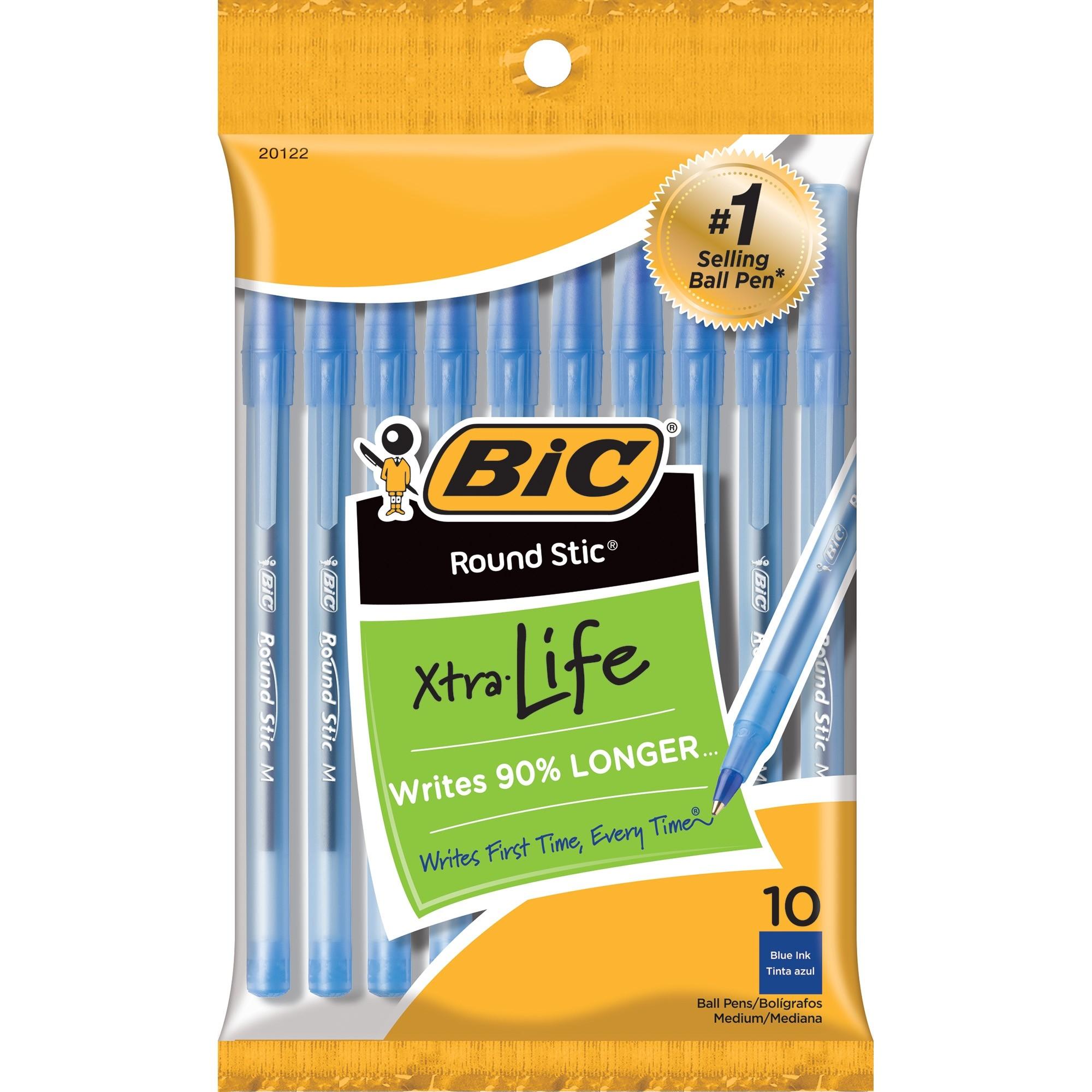 Blue Bic Pens