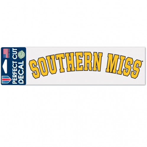 Southern Miss Arch Decal