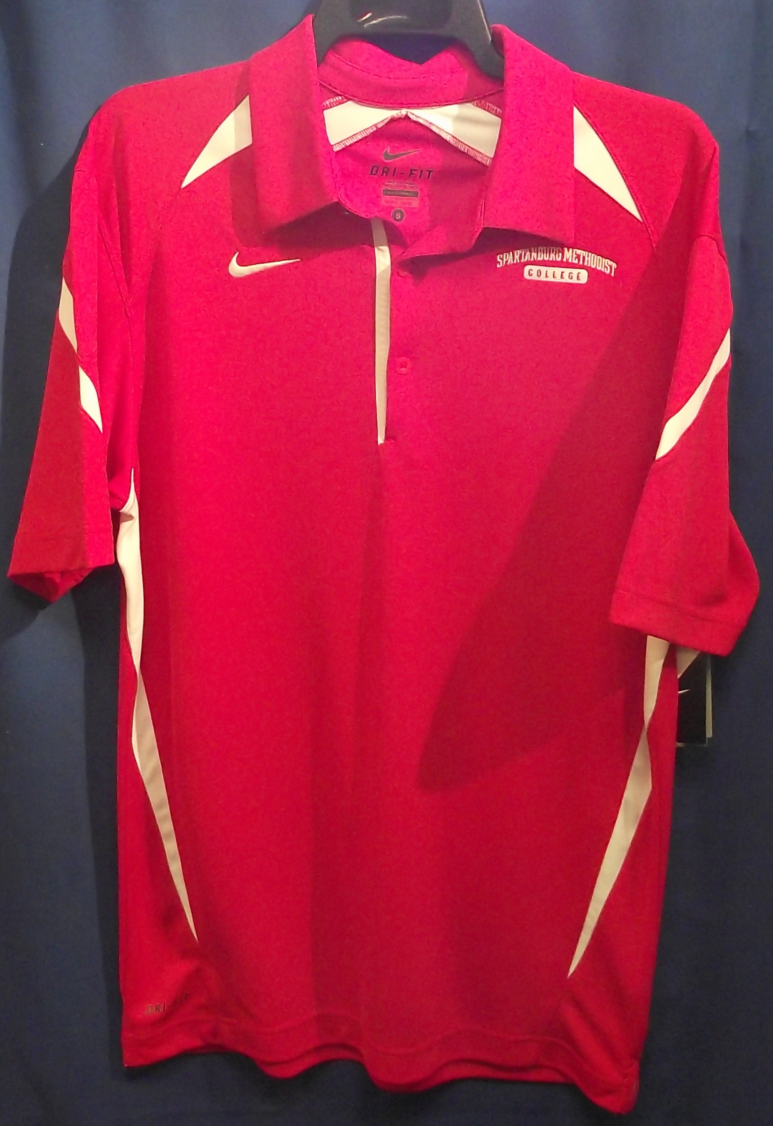 Nike SMC Red DriFit Polo