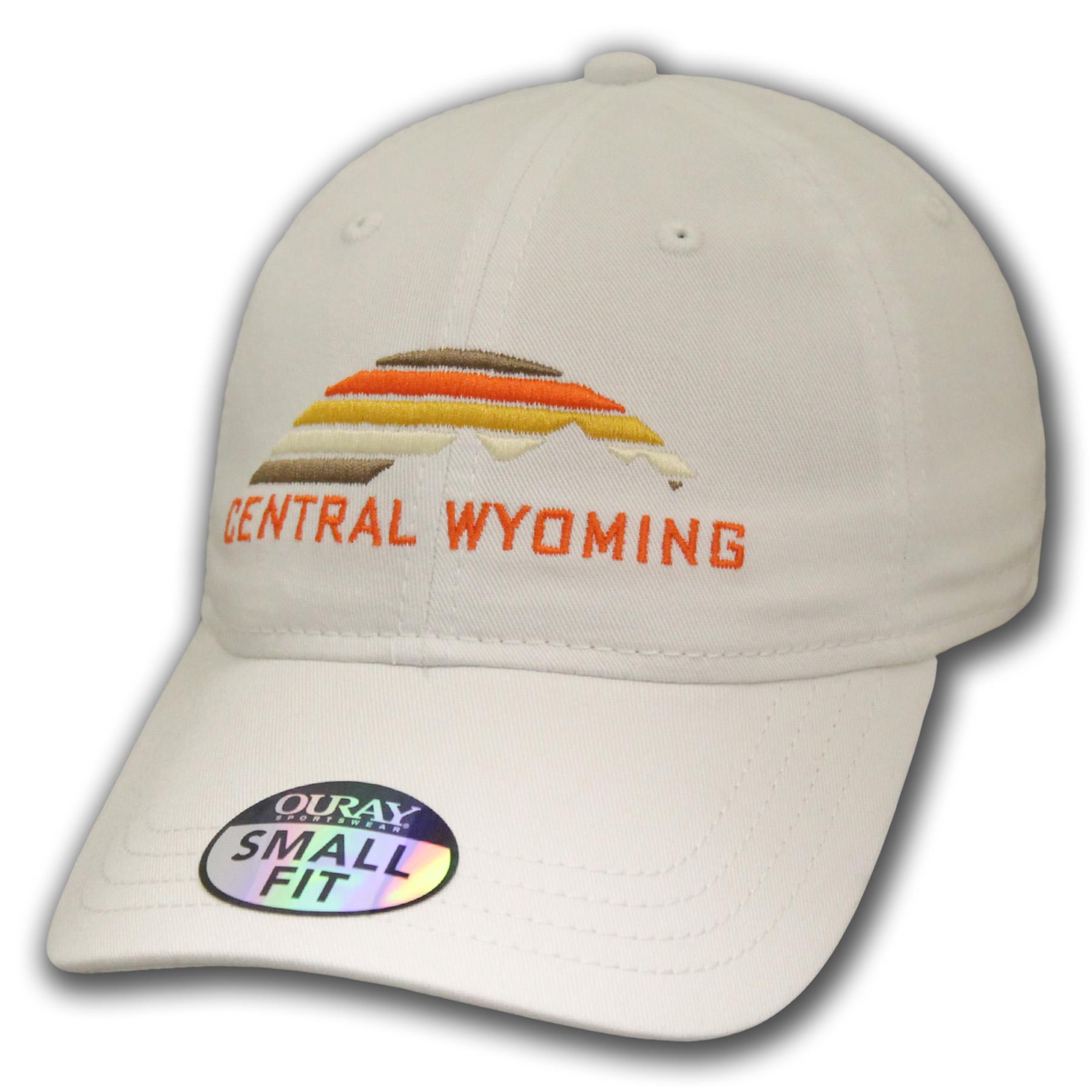 Central Wyoming Mountain Sunset Baseball Cap