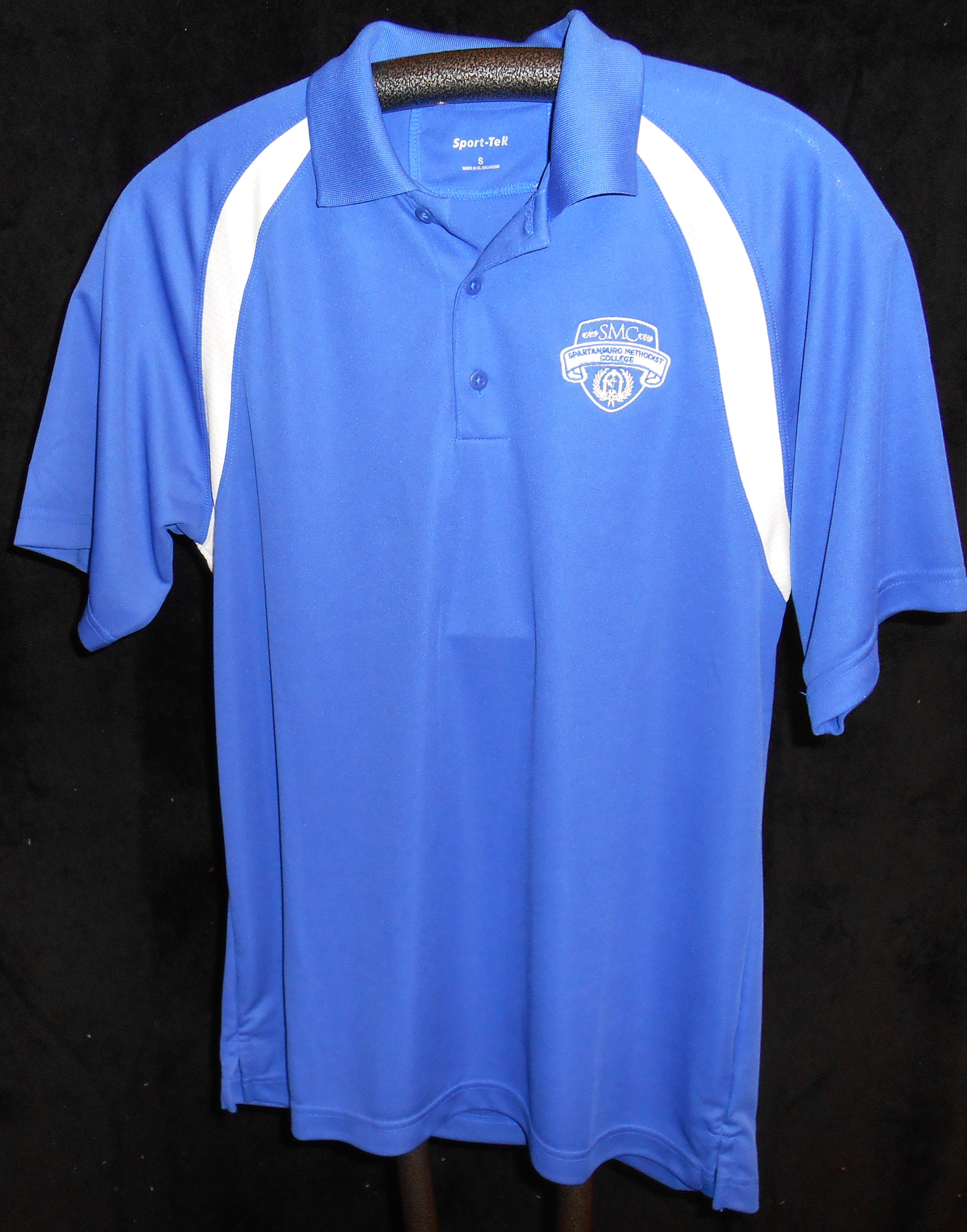 Dri-Fit Royal and White Polo