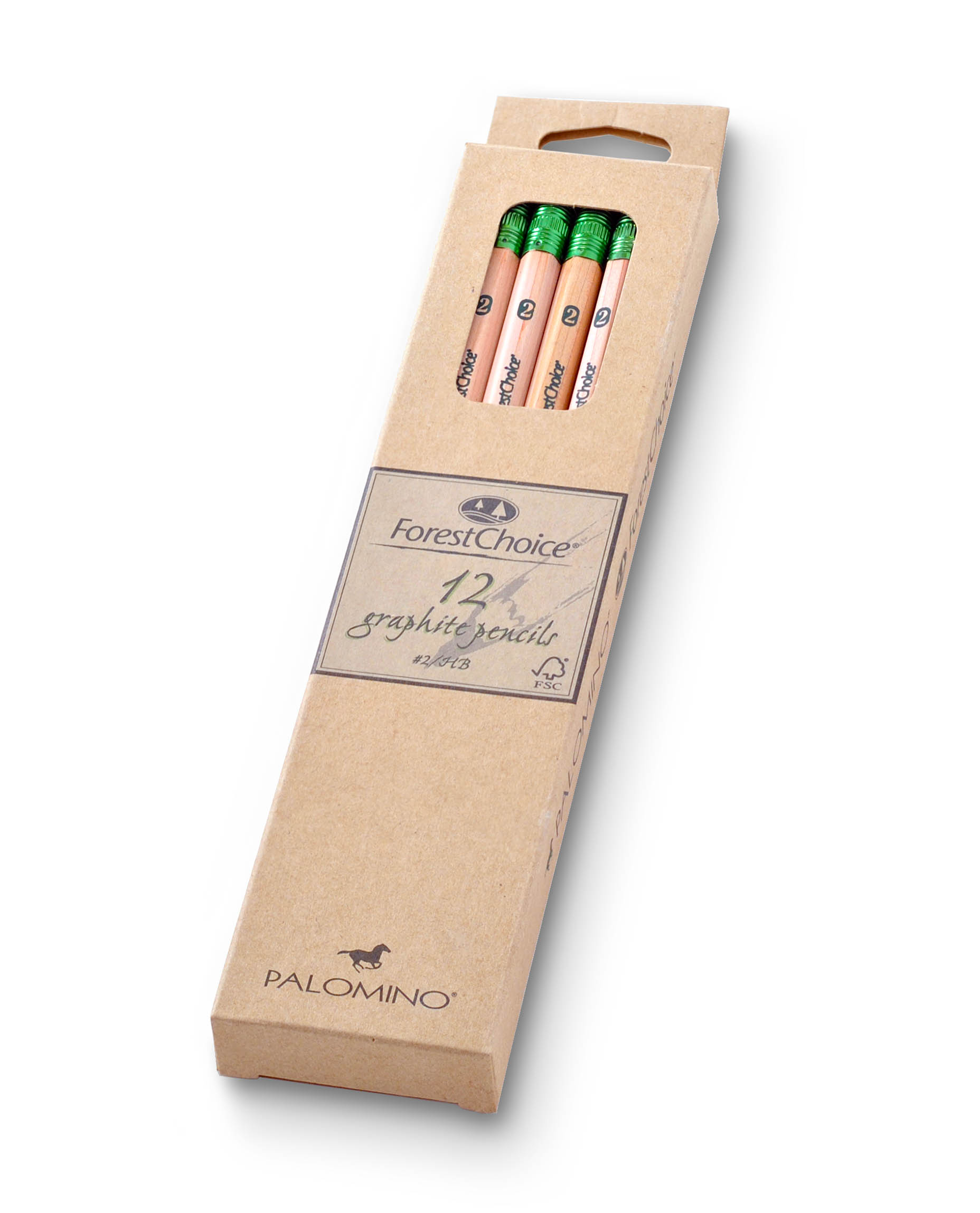 Palomino Forest Choice Number 2 Pencils Pack