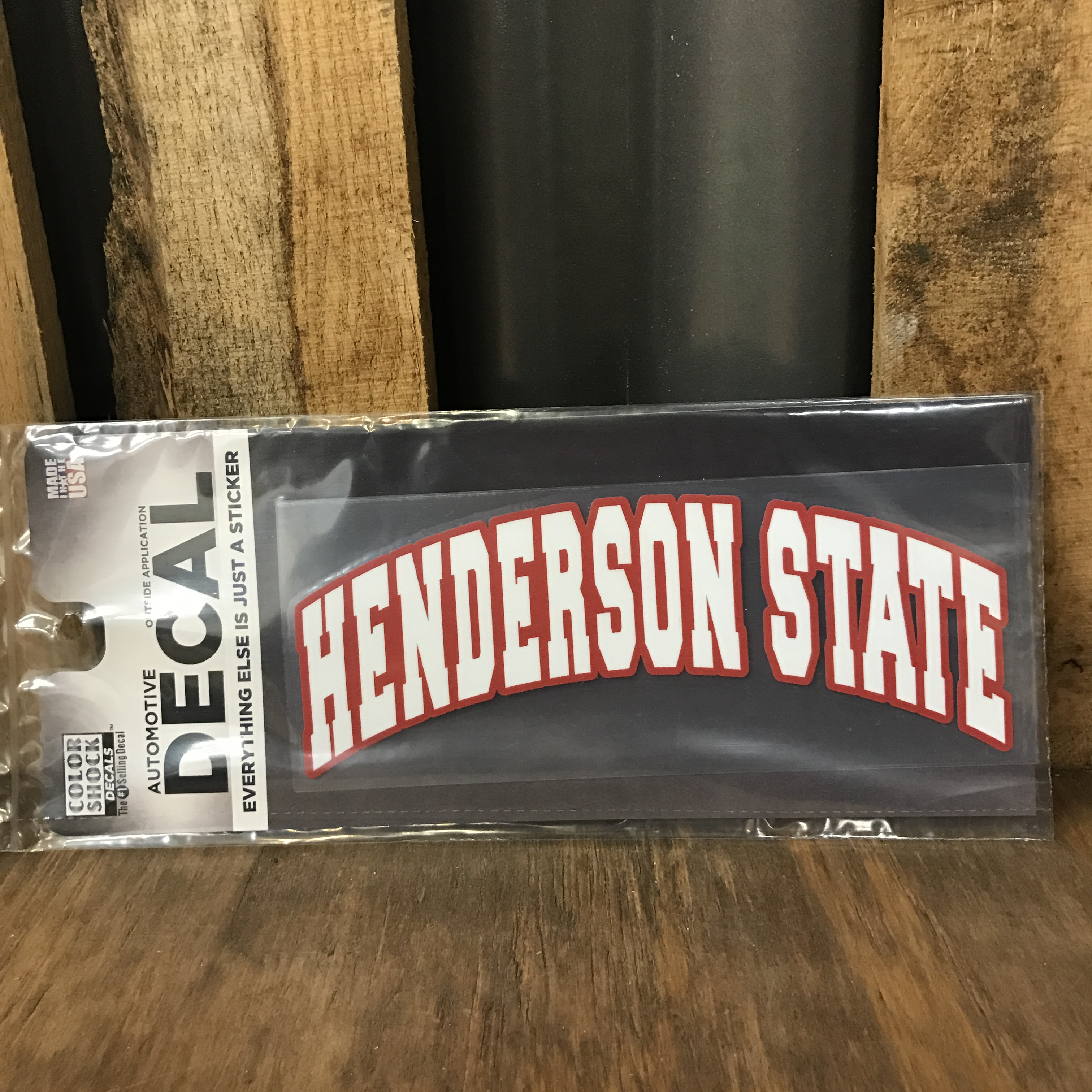 Henderson State Arched Decal