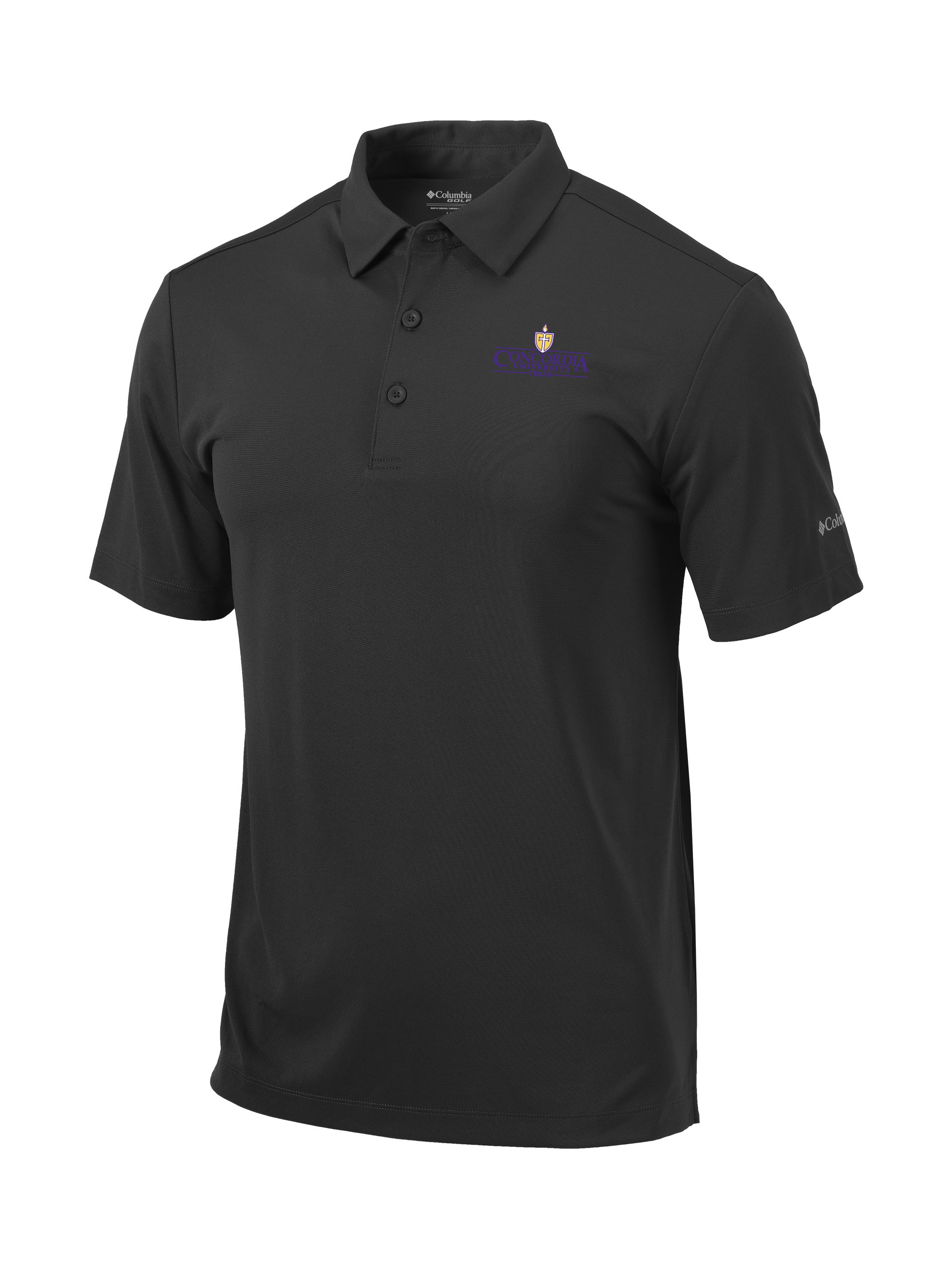 Columbia - Charcoal Omni Wick Polo