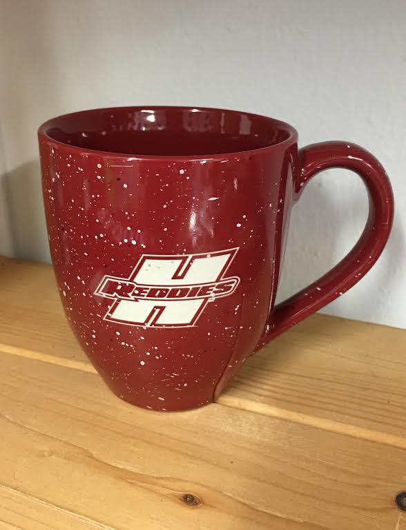 Speckled Engraved Bistro Mug
