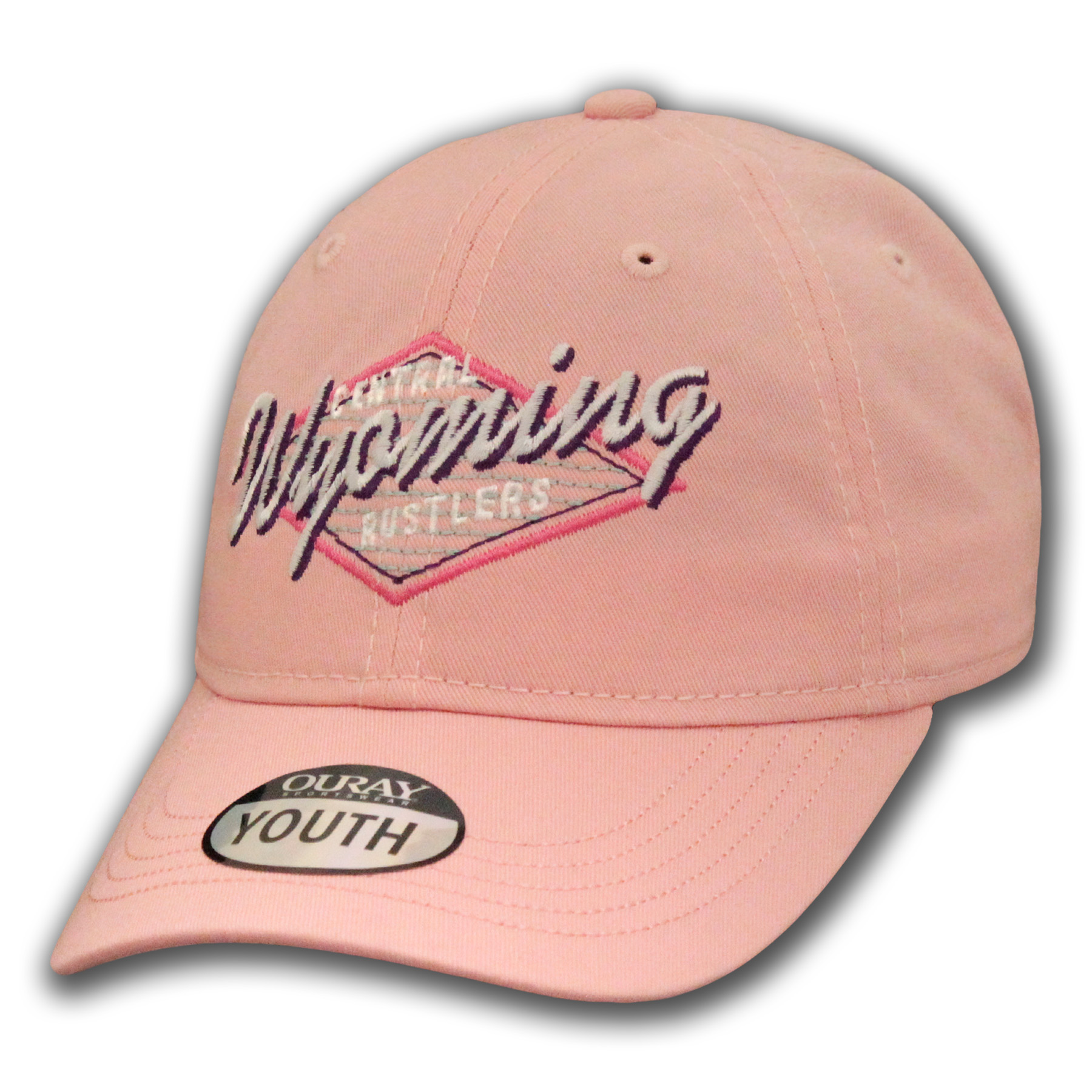 Central Wyoming Rustler's Little Girl's Baseball Cap