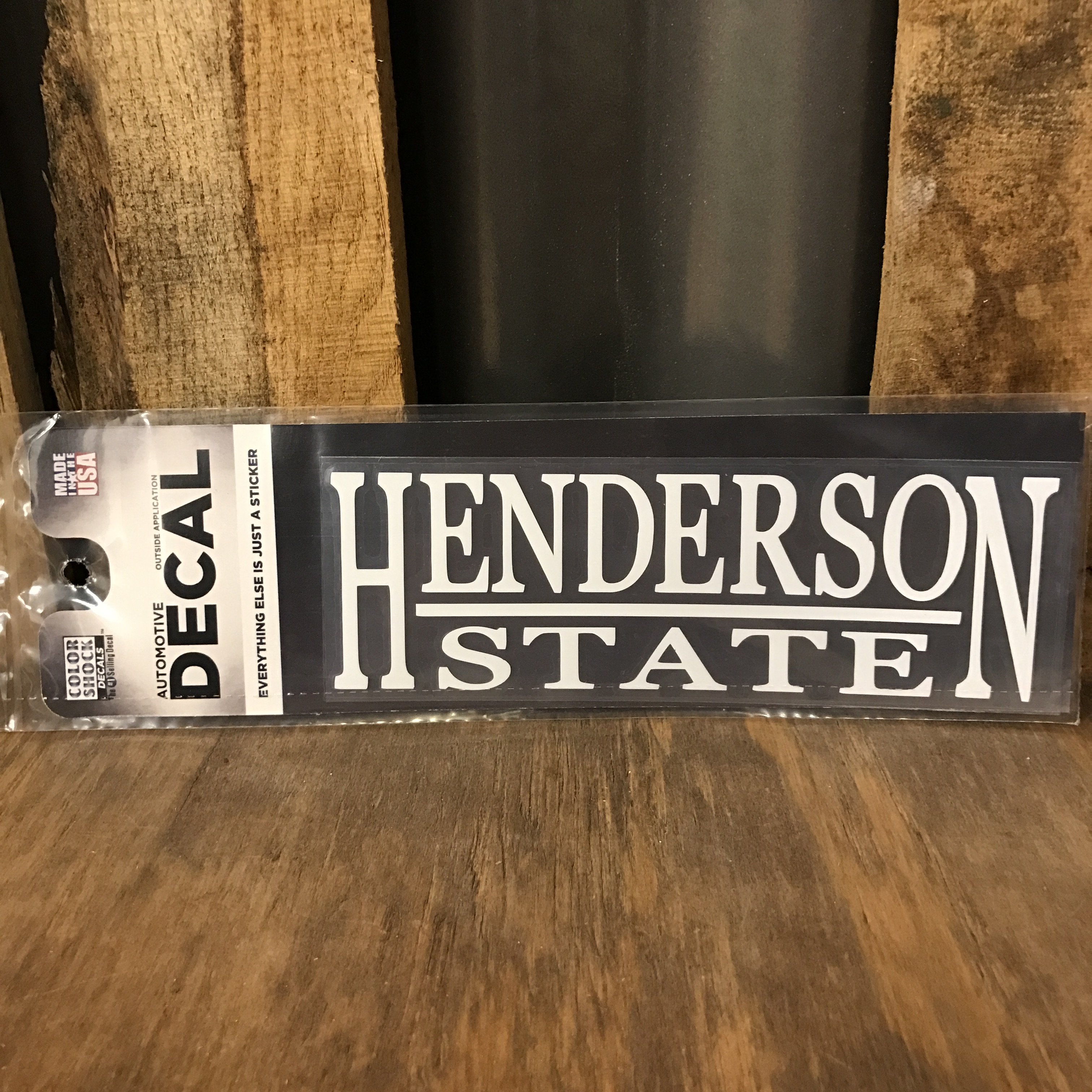 Henderson State Decal