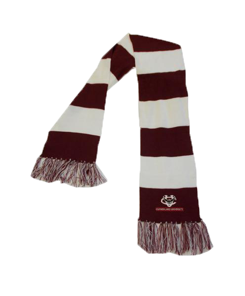 CU Striped Team Scarf