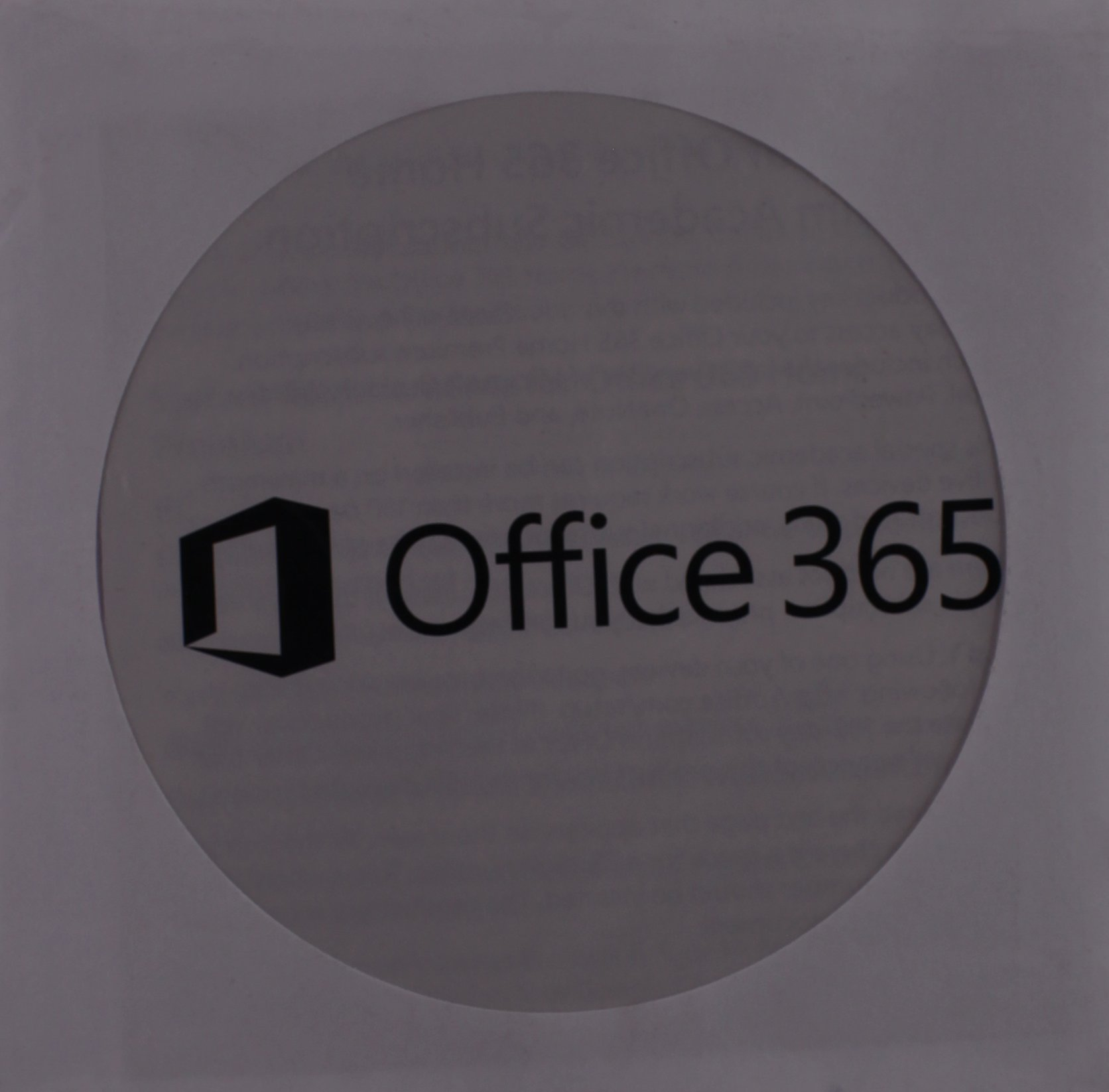 Office 365 Home Premium Academic -- 180-Day Trial Access Card
