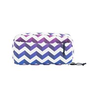 Pixel Pouch Shadow Chevron