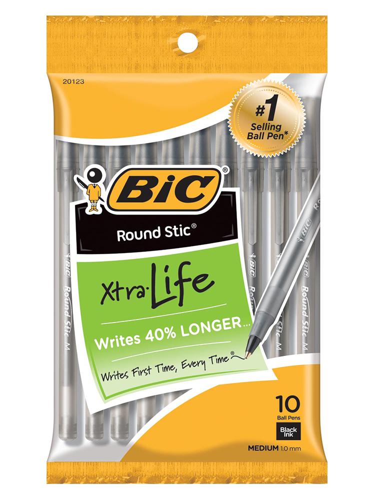BIC Xtra Life Comfort Pens