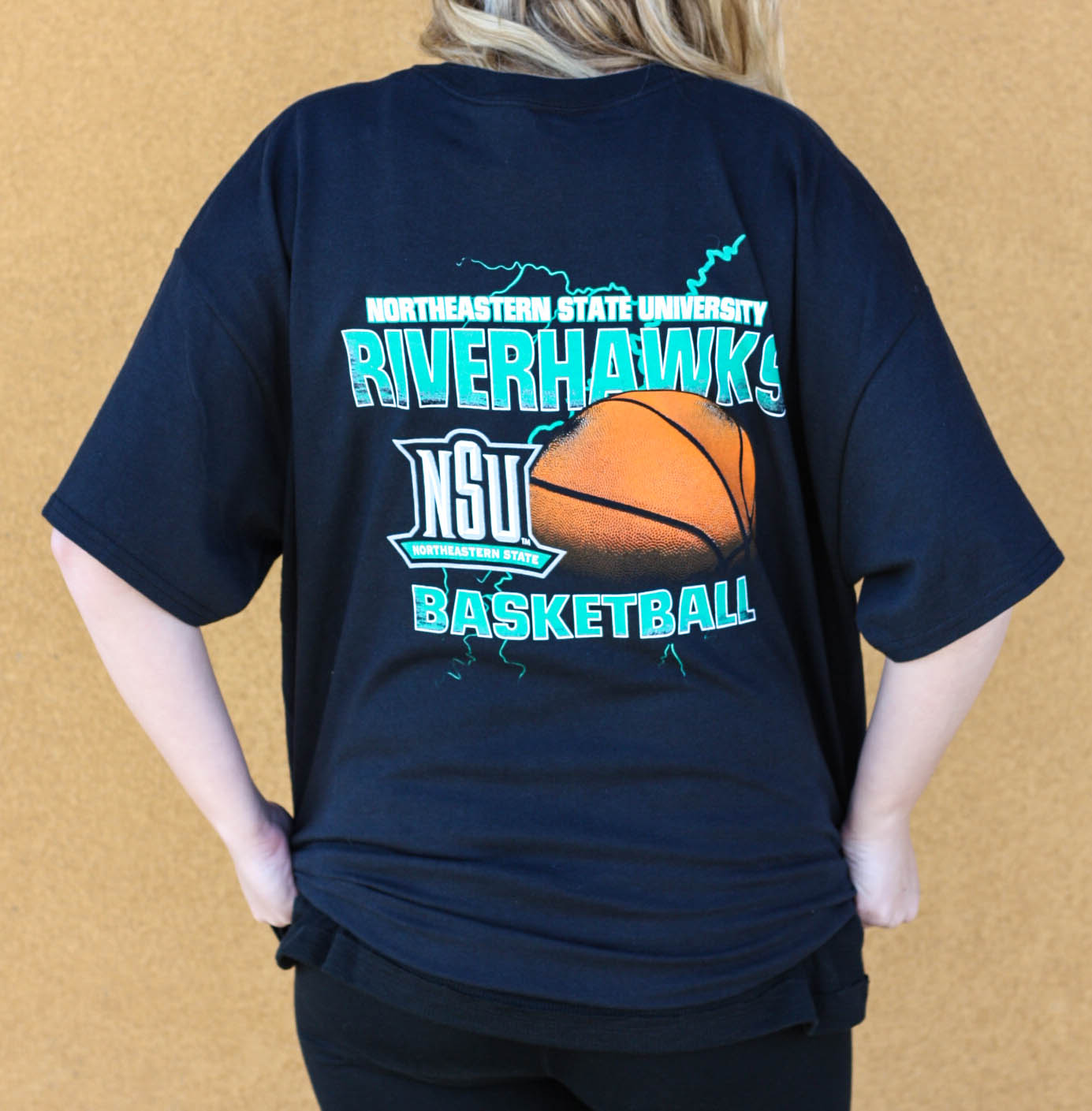Riverhawk Basketball T-shirt