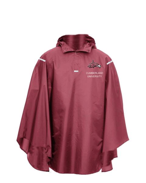 Cumberland University Reusable Rain Poncho