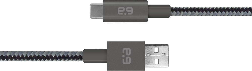 PureGear Charging Cable - Slate 4ft BP USB
