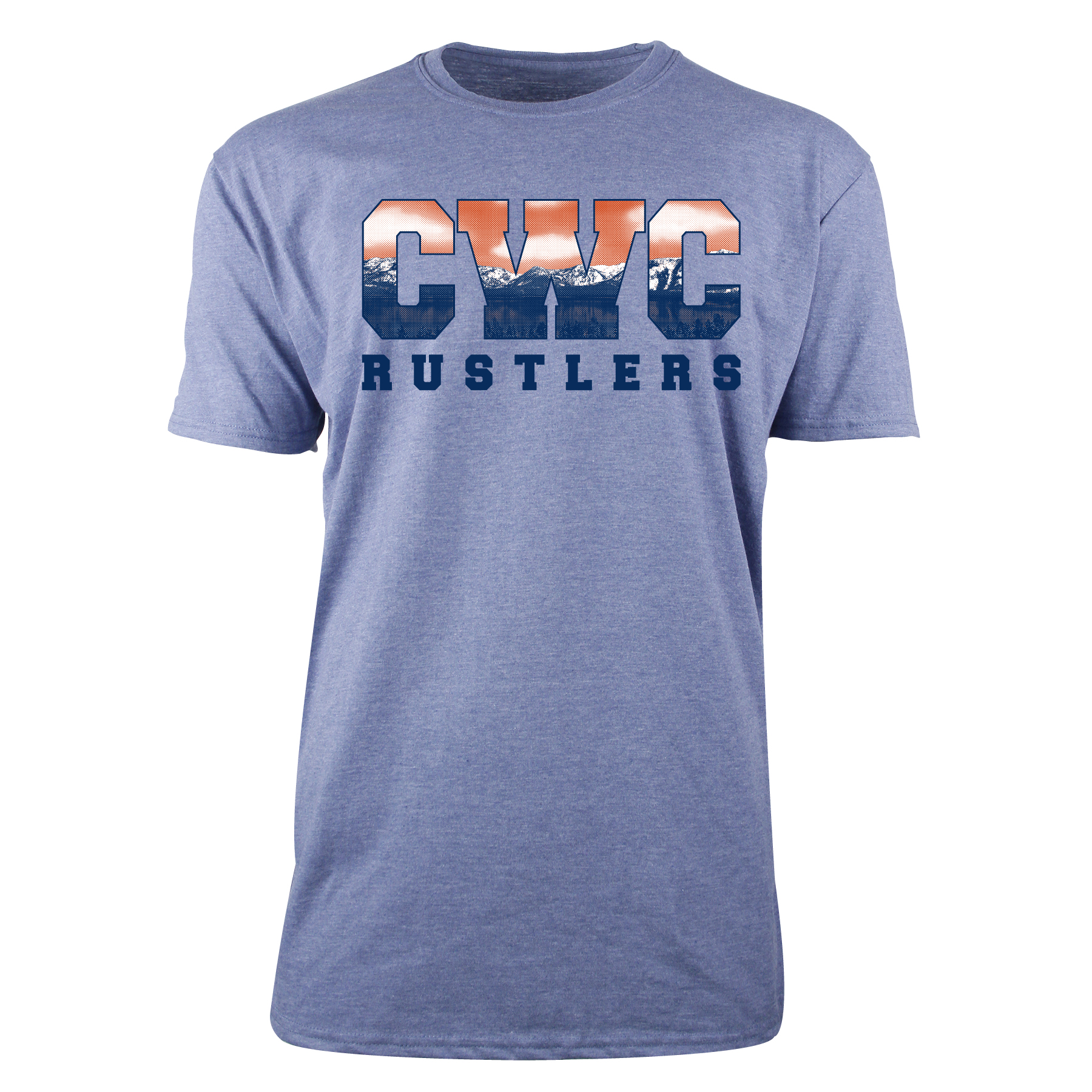 Mountain Print CWC Rustlers T-Shirt