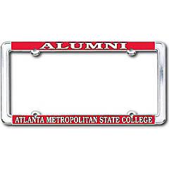 Atlanta Metropolitan State College Alumni Thin Dome License Plate Frame