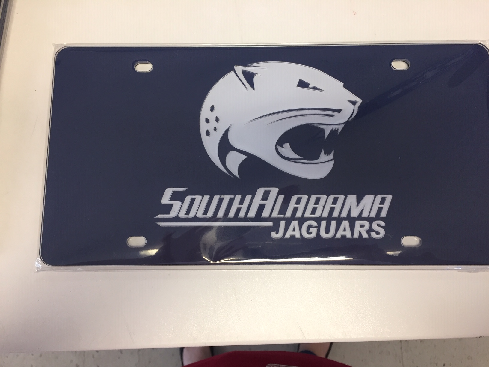Jag Logo License plate