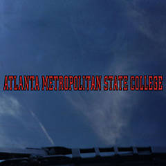 Atlanta Metropolitan State College Strip Decal