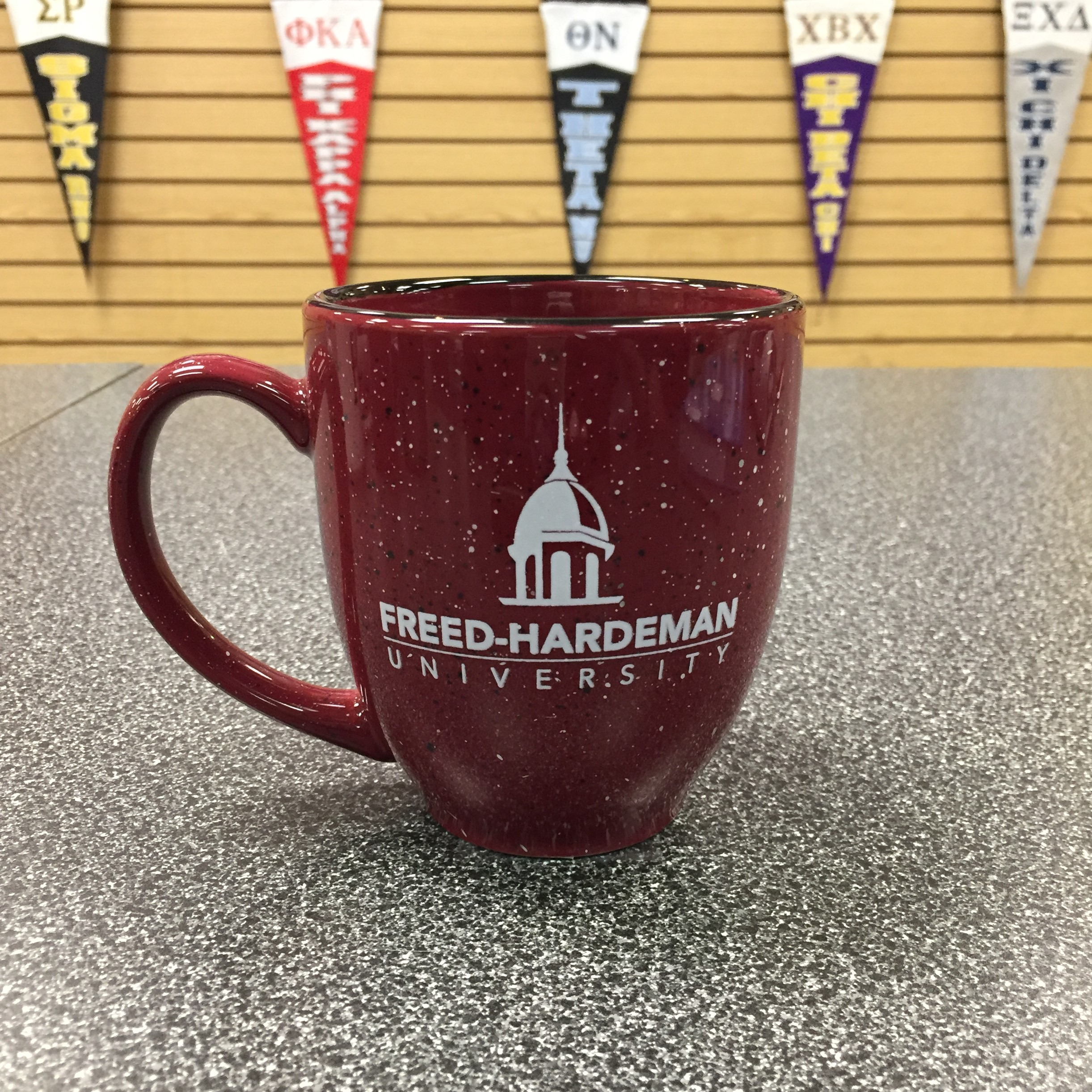Belltower Logo Speckle Mug