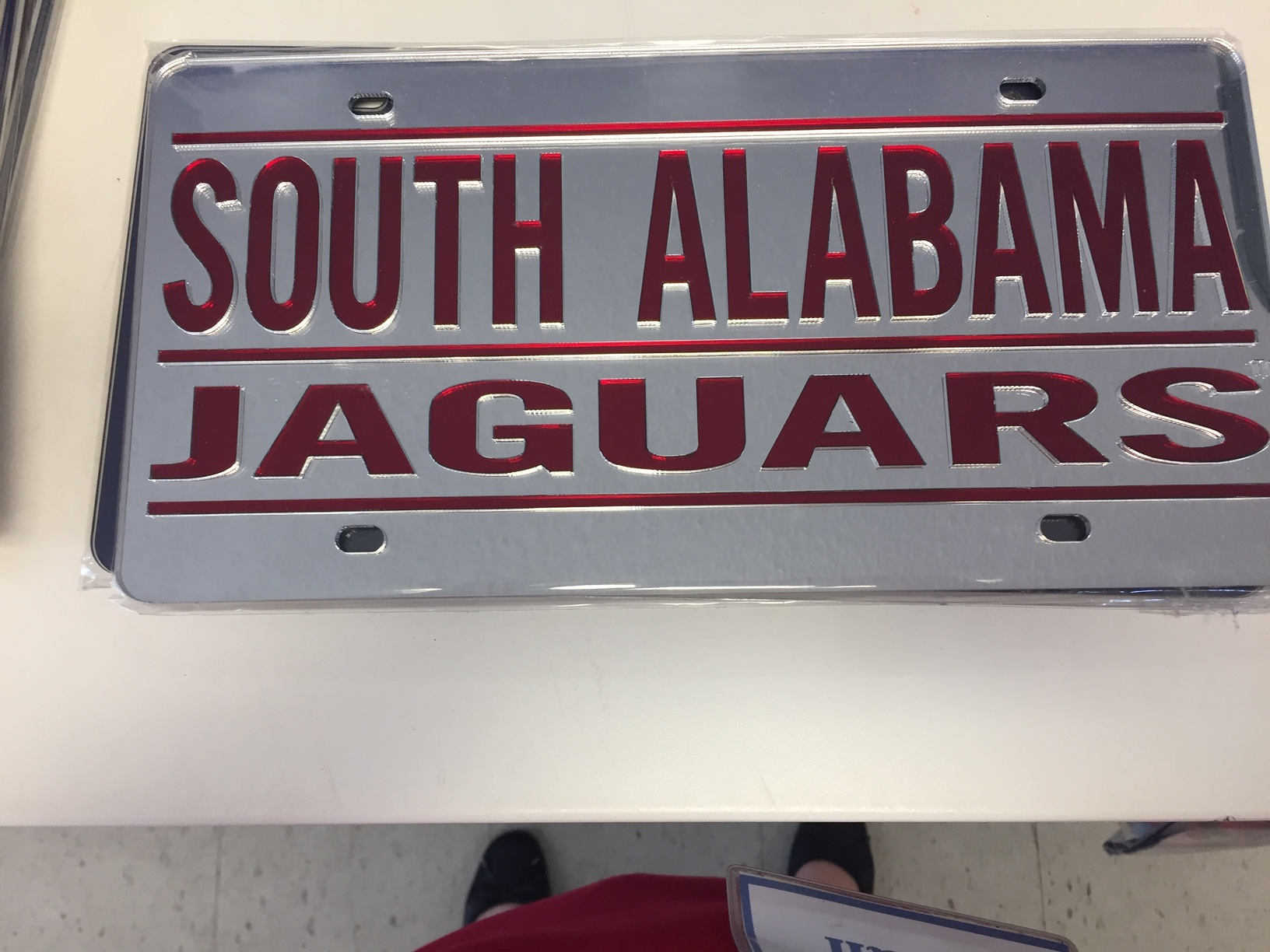 South Alabama License Plate