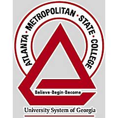 Atlanta Metropolitan State College University System of Georgia Decal