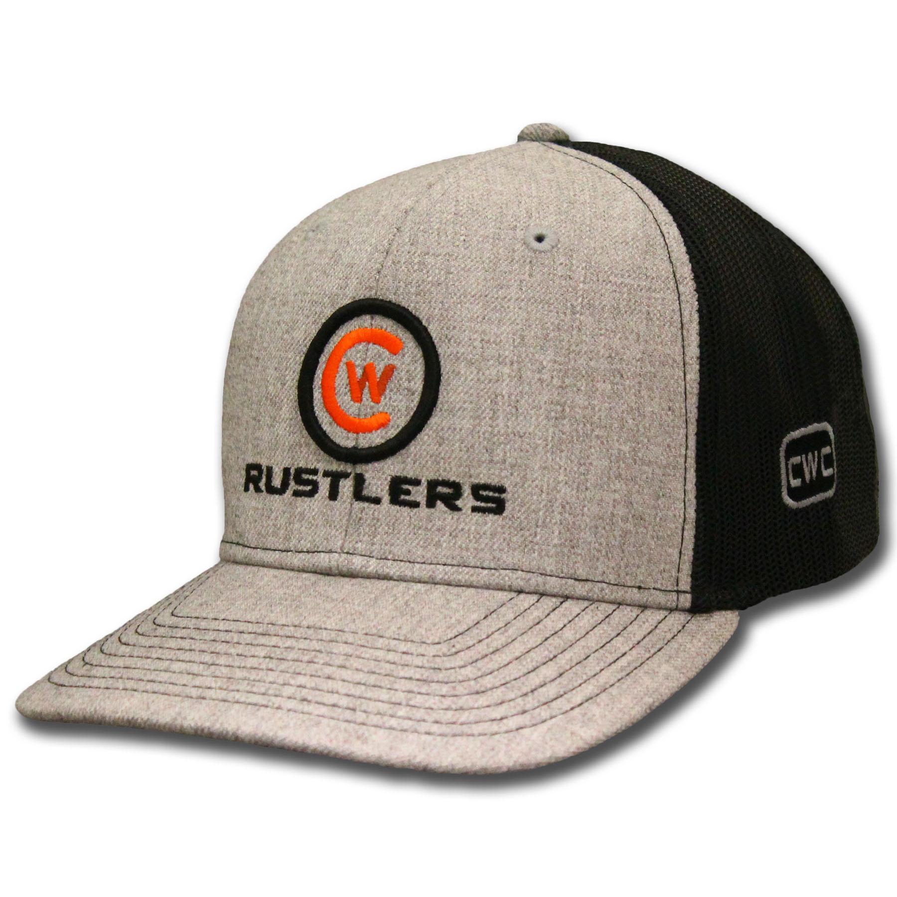 Rustlers CW Logo Meshback Trucker Cap