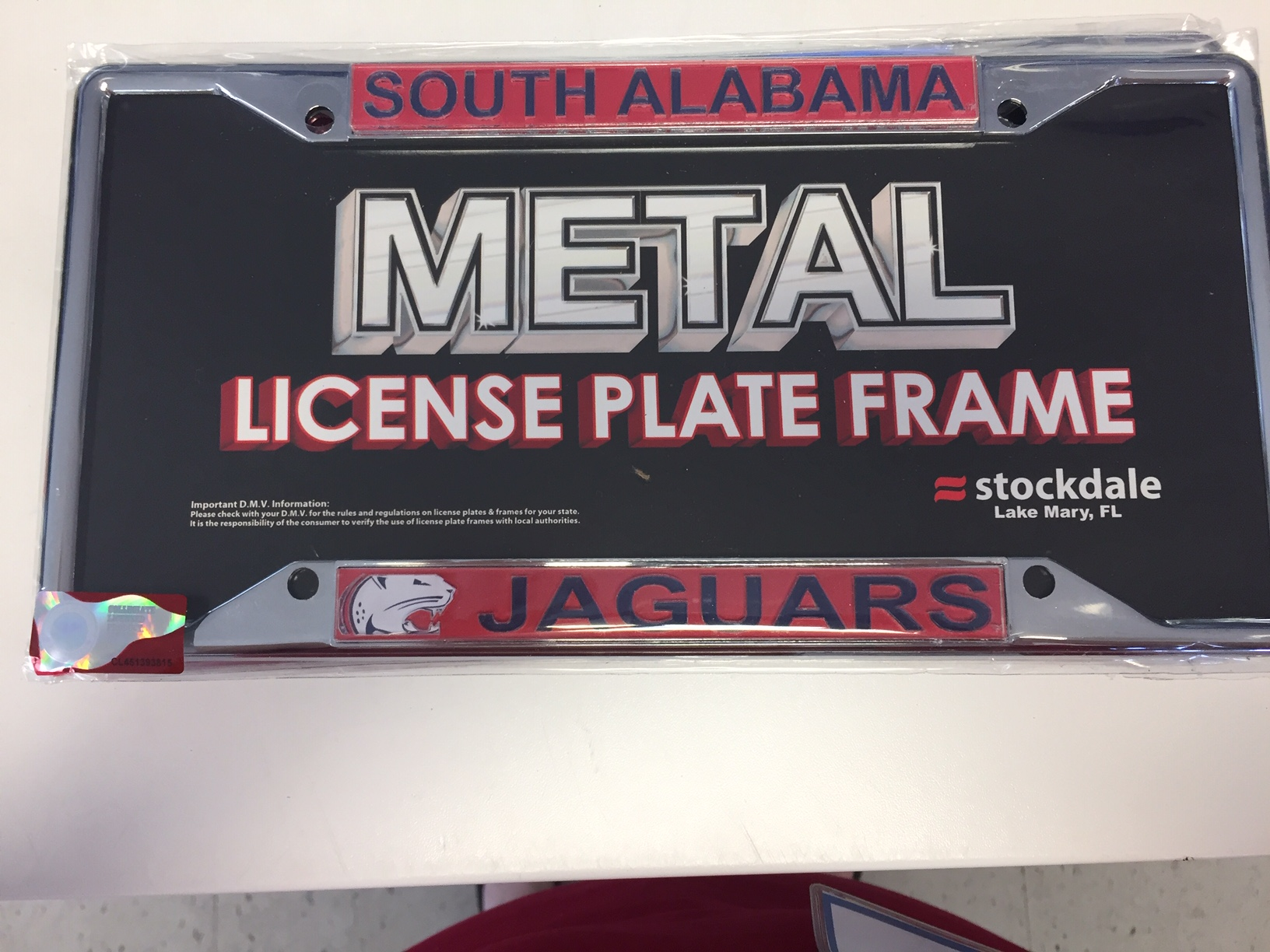 South Alabama License Plate Frame