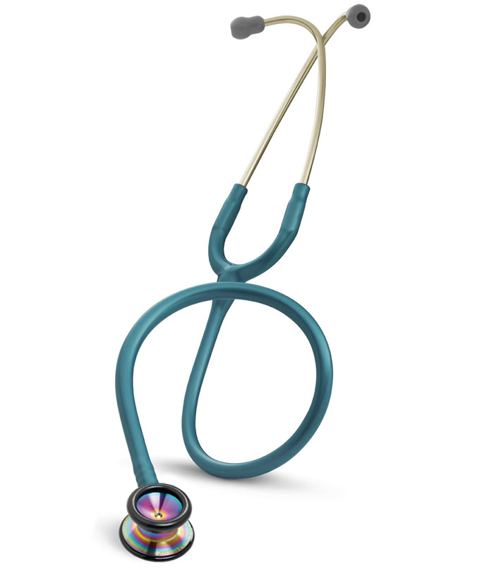 Littmann Classic II Pediatric Stethoscope - Caribbean Blue/Rainbow
