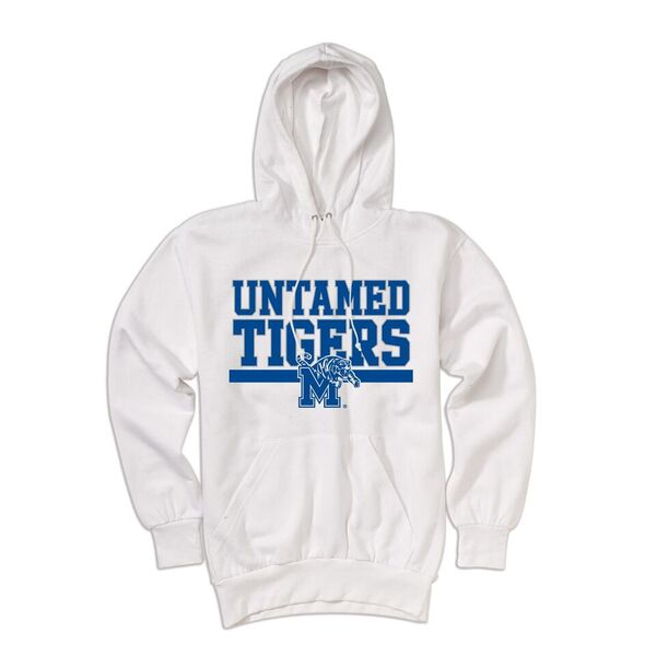 White Untamed Tigers Hood