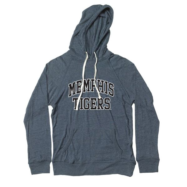 Navy Heather T-Shirt Hood