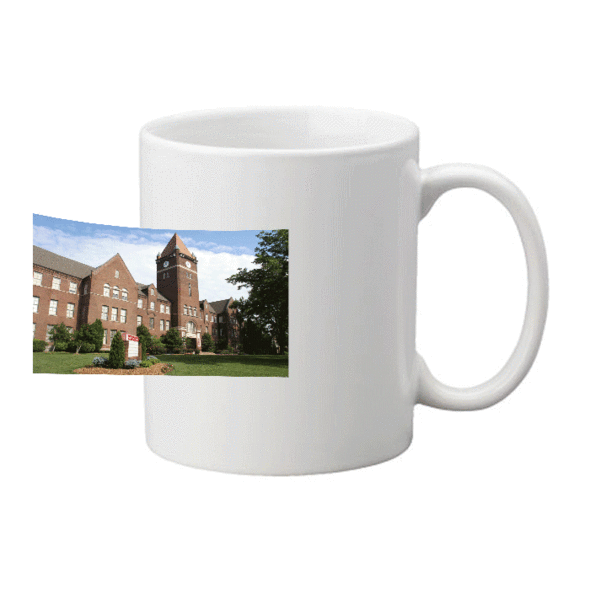 Cumberland University Campus Photo Mug