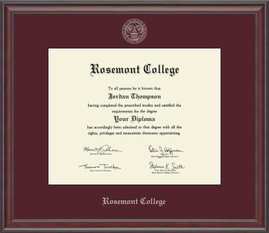 Studio Diploma Frame