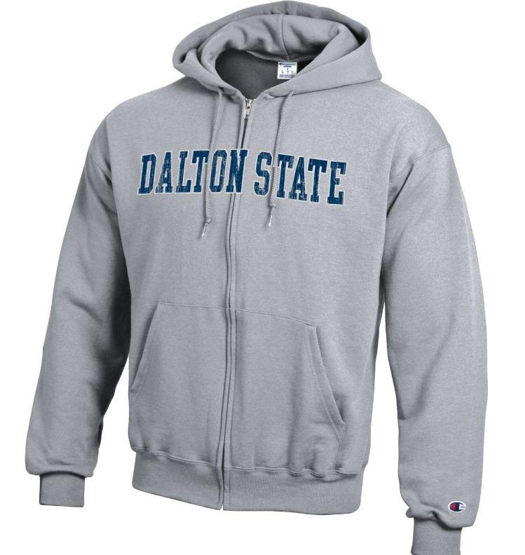 Dalton State Full Zip Hooded Sweatshirt