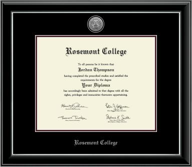 Onyx Diploma Frame
