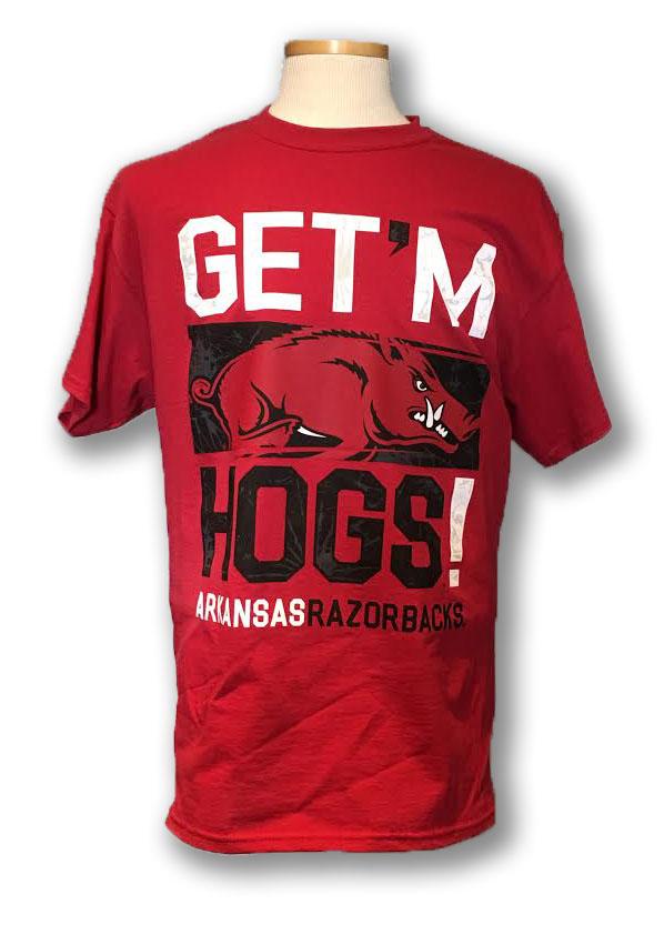 Razorback Get 'em Hogs Tee