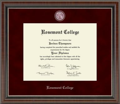 Chateau Diploma Frame