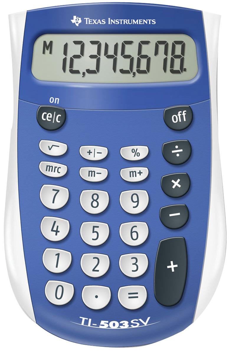TI-503 SuperView Calculator - Blue 1Pk