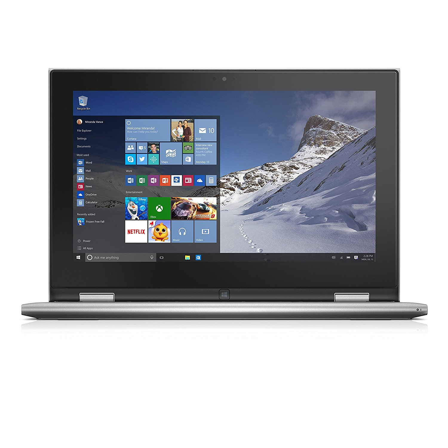 "Inspiron 3000 11"" 2 in 1 Touch Screen Laptop"