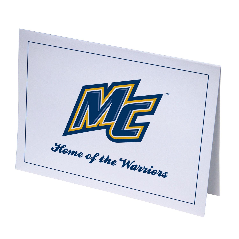 Merrimack Warriors Notecards