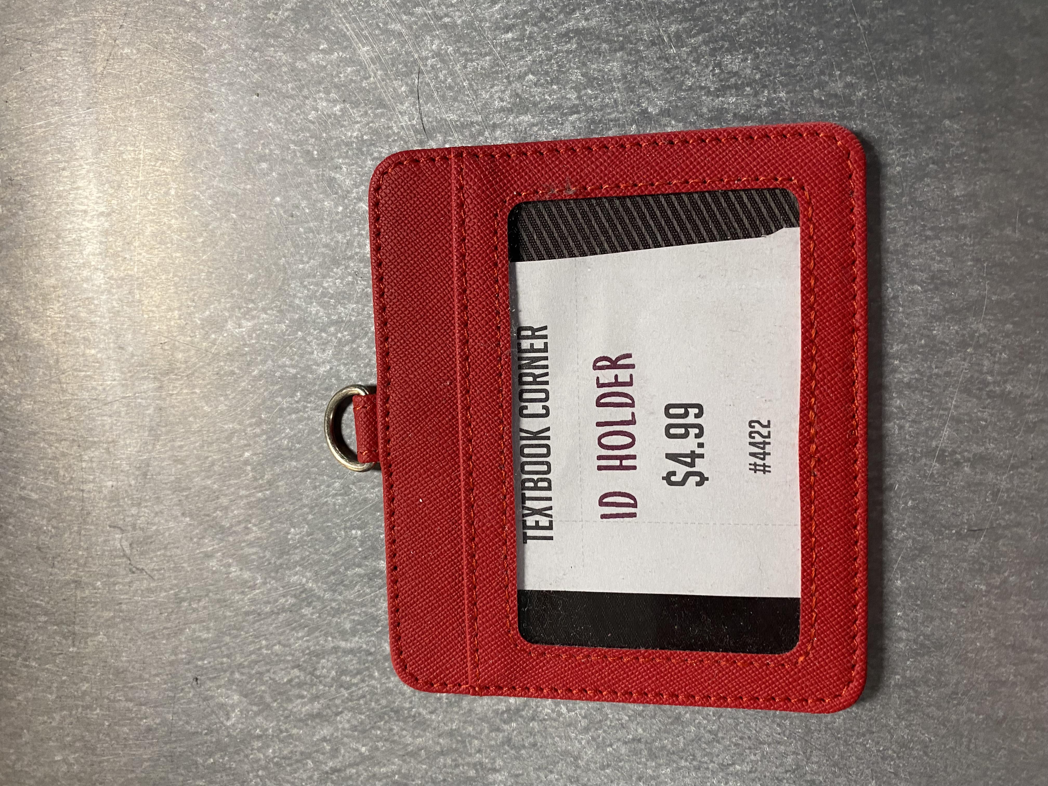 Red ID Holder
