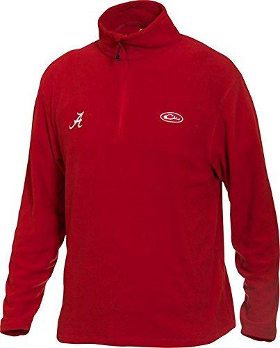 Drake Men's University of Alabama Fleece Camp Pullover