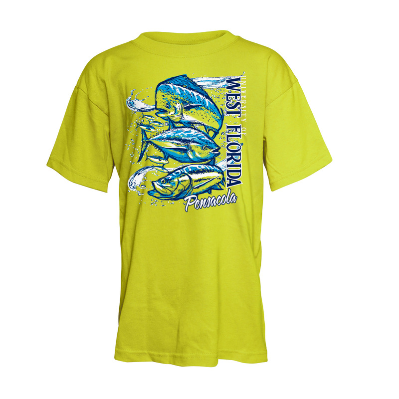 BIG FISH STACK YOUTH TEE