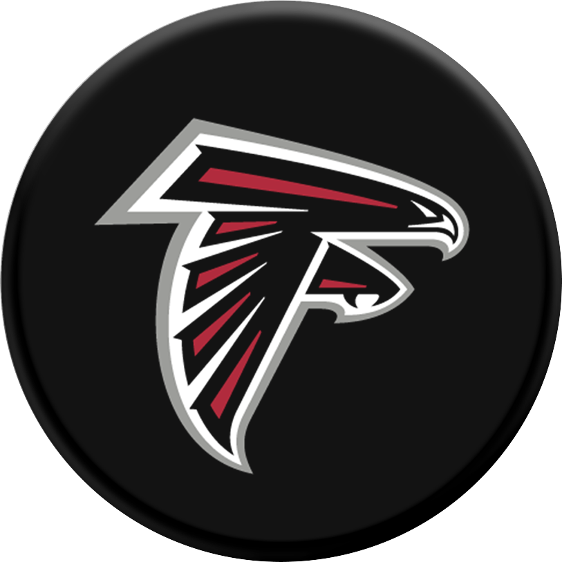 PopSockets NFL PopGrip - Pattern BP Atlanta Falcons Helmet