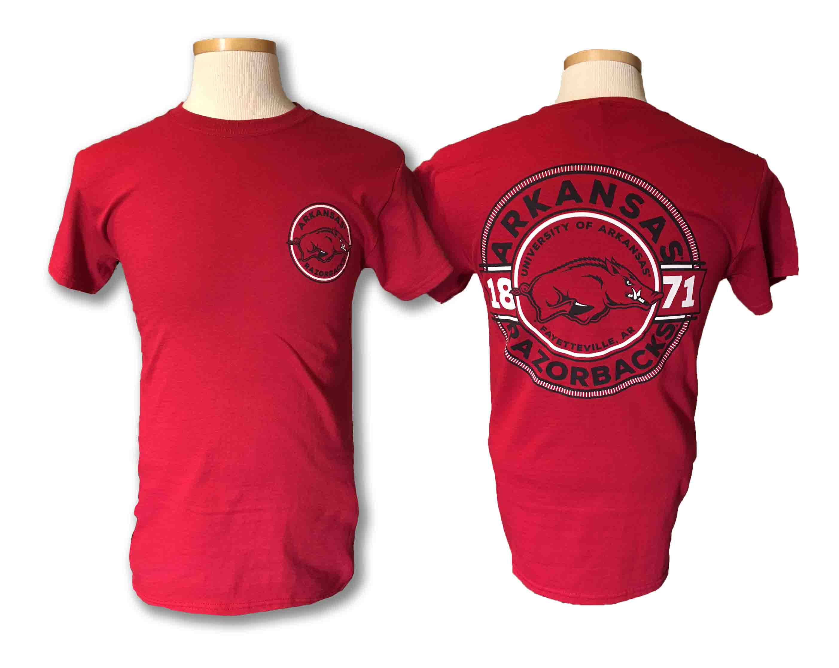 Arkansas Circle Short Sleeve Tee