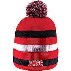 AMSC Knit Cuff Pom Hat
