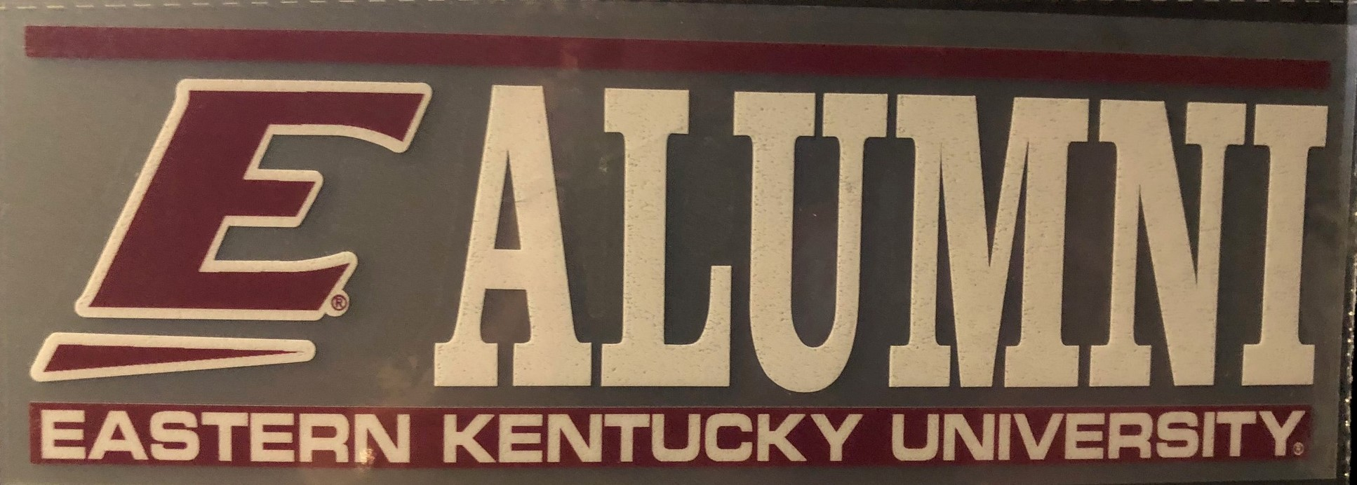 ALUMNI AUTOMOTIVE DECAL