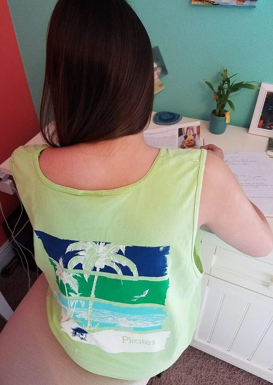 COMFORT COLOR BEACH TANK