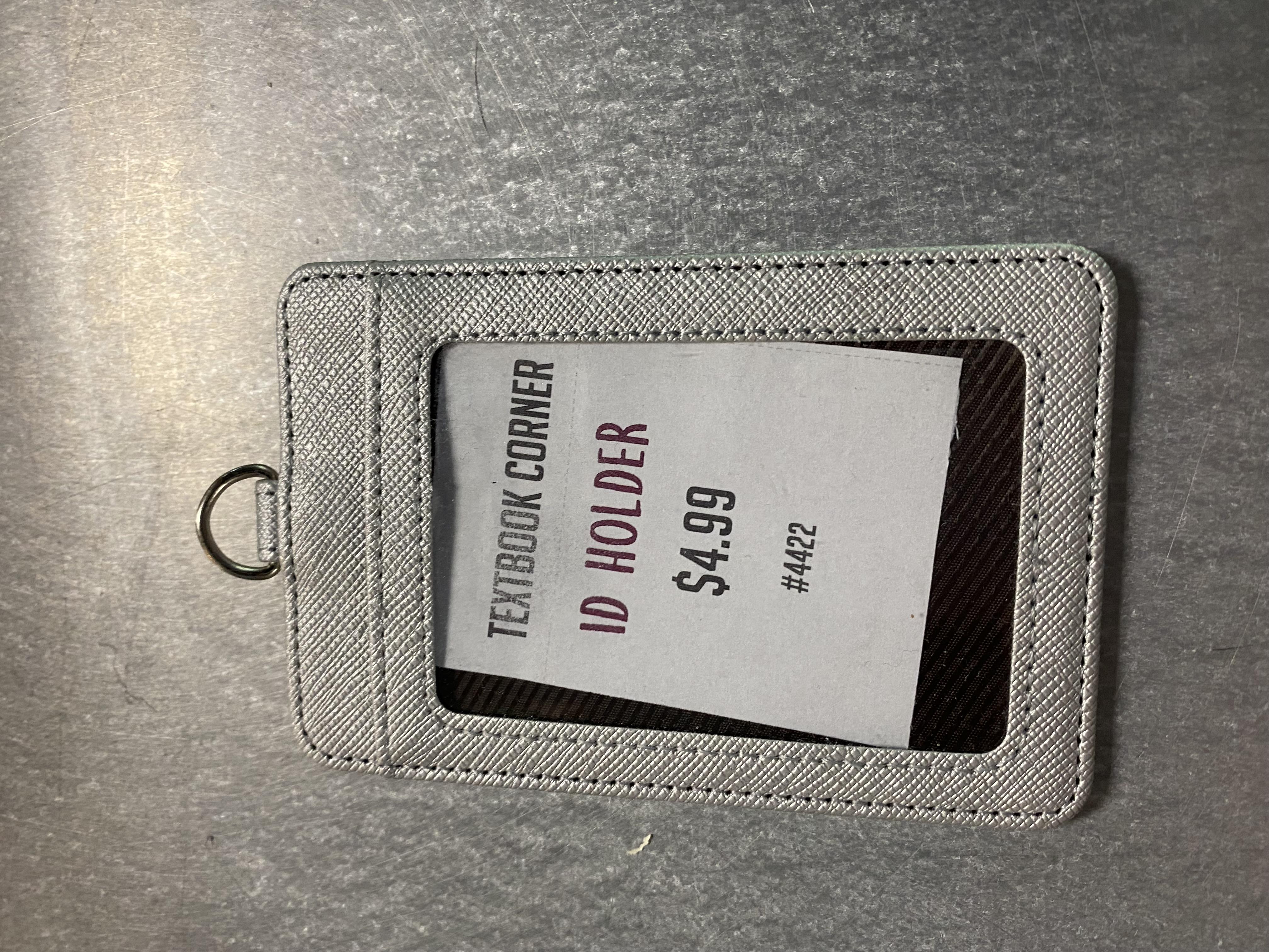 Silver ID Holder