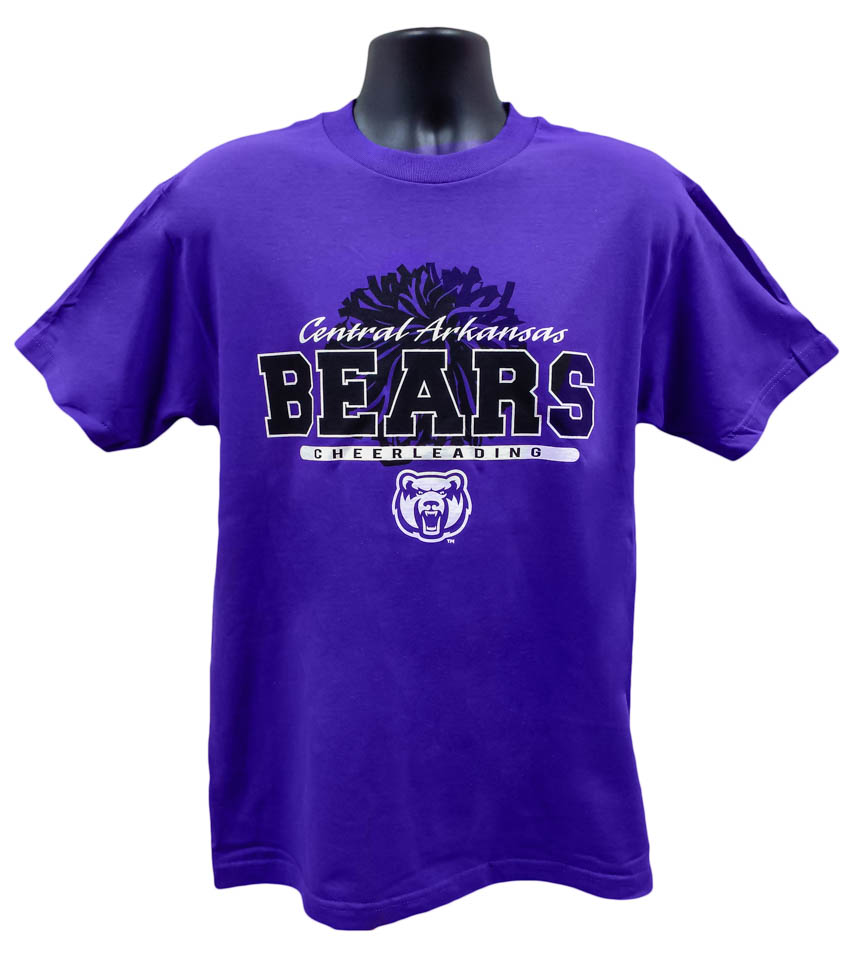 Cheer Central Arkansas Bears Tee